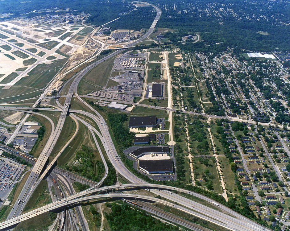 Aerial View of Cleveland Business Park